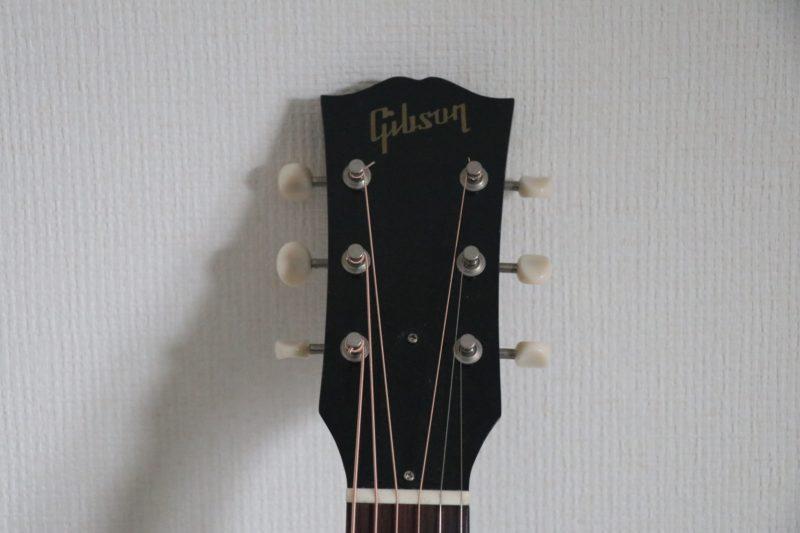gibsonのヘッド