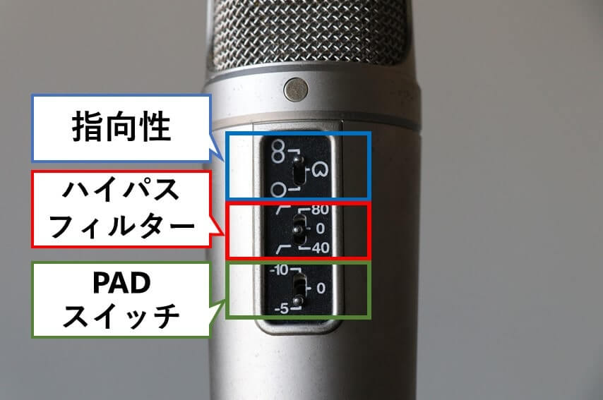 RODE NT-2A 機能説明