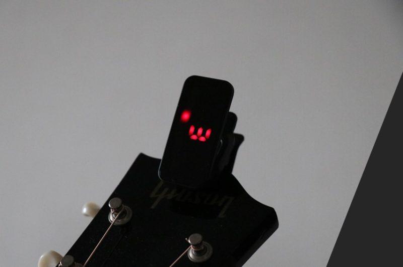 6弦をチューニングしている時のPitch Clip2