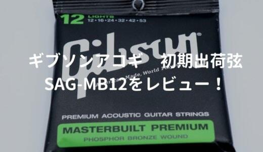 Gibson(ギブソン)のアコギ弦の種類と特徴を解説