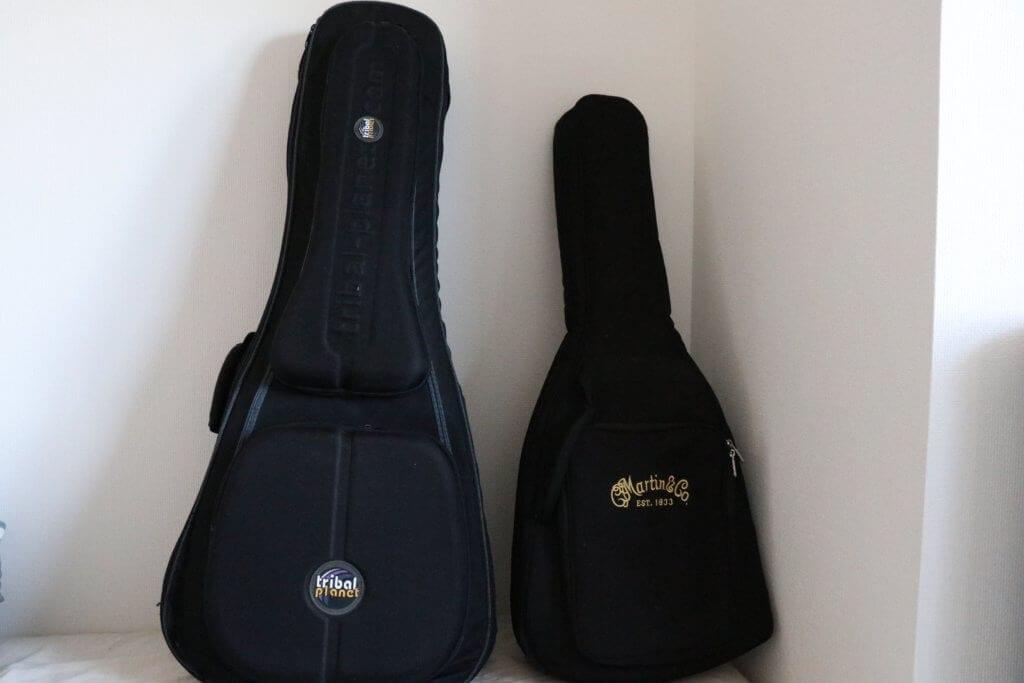 ギターケースとギター