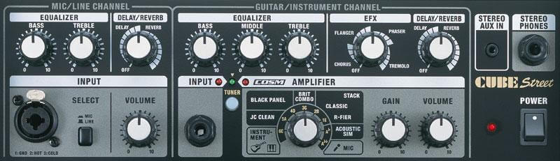 ROLAND CUBEコンパネ
