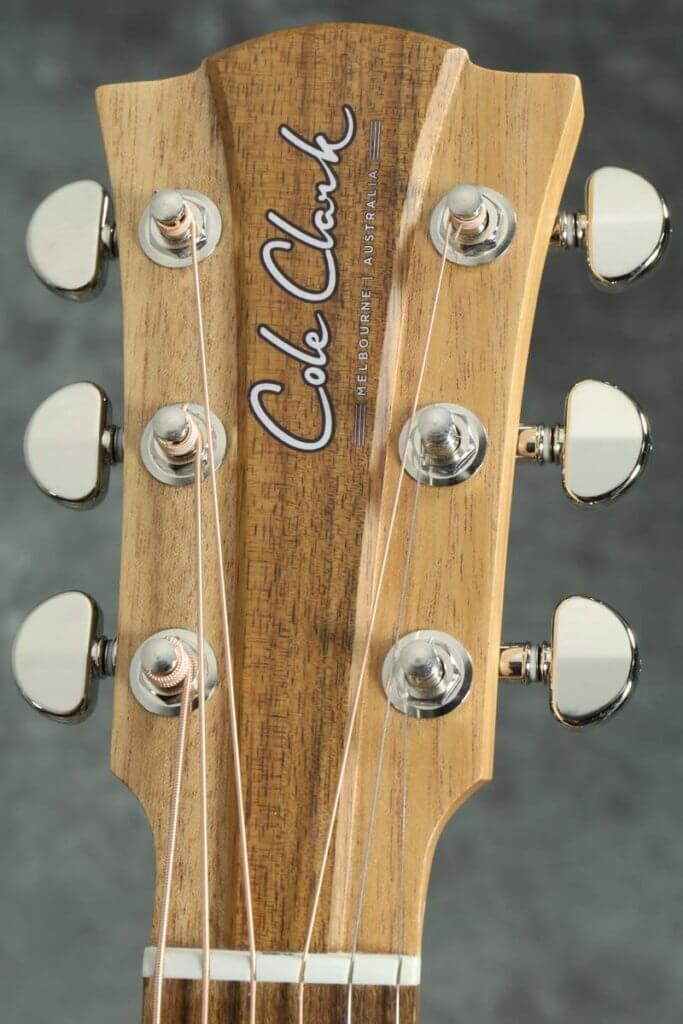 Cole Clark ギターヘッド