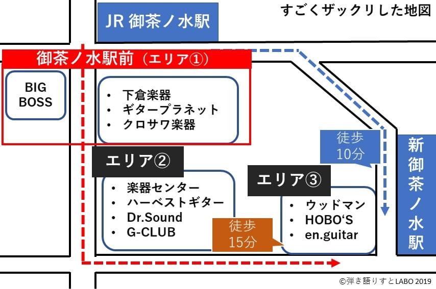 御茶ノ水駅の地図