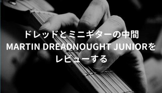 Martin Dreadnought Junior(マーチン ドレッドノートジュニア)をレビュー。10万円で買える手ごろなアコギ