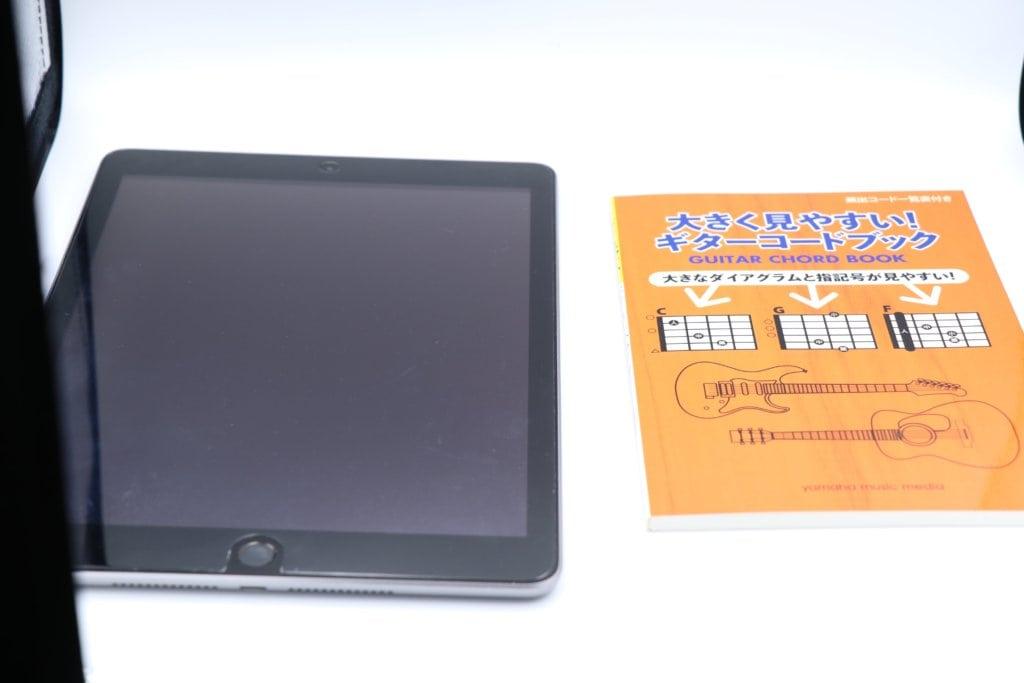 iPadとの大きさ比較