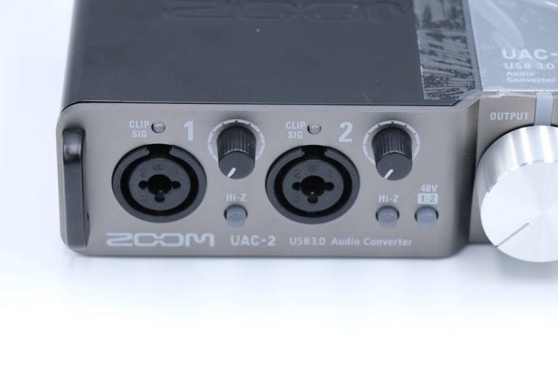 ZOOM UAC-2のコンボジャック