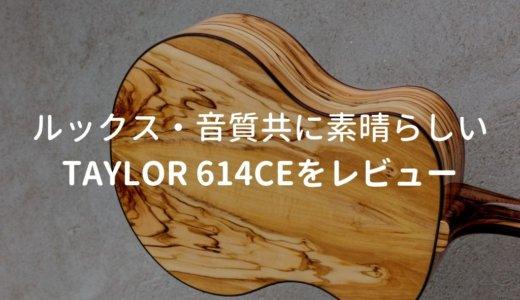 Taylor(テイラー)614ce V-Classをレビュー。さっぱりした音で使いやすいエレアコ