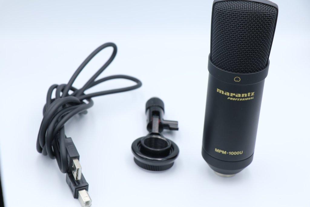 MPM-1000Uと付属品