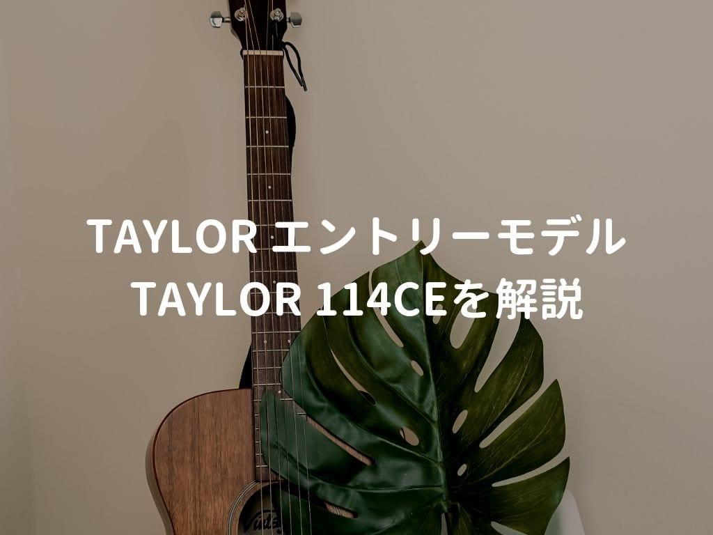 ギターと葉っぱ