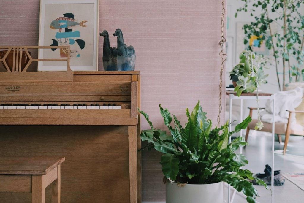 ピアノのある部屋