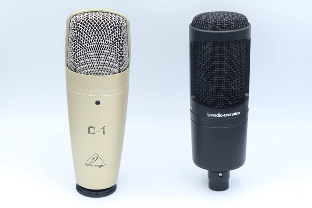 C-1とAT2020を比較