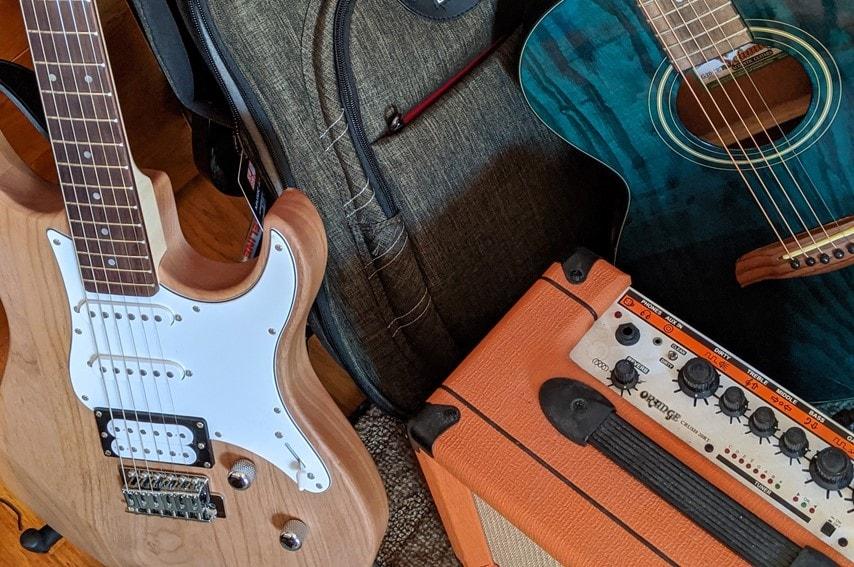 エレキギターやアコギ