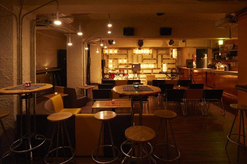 三軒茶屋グレープフルーツムーンのステージ