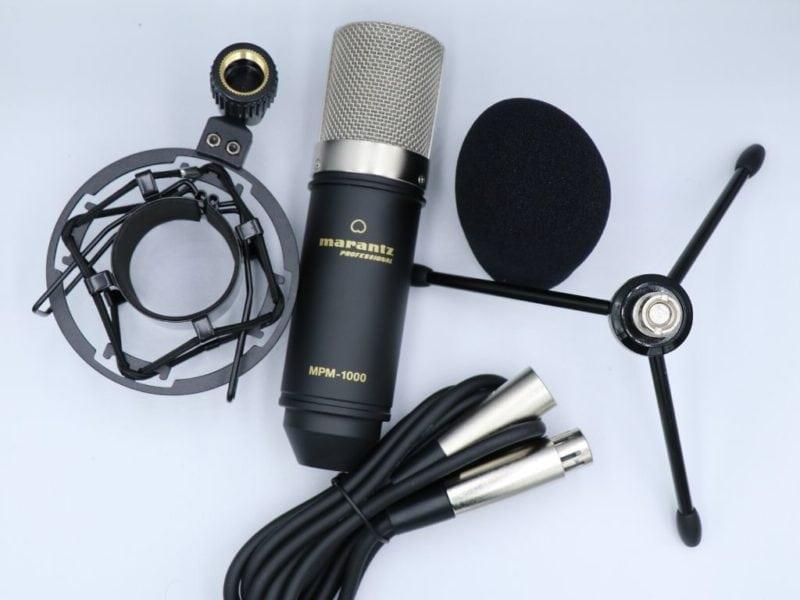 MPM-1000と付属品