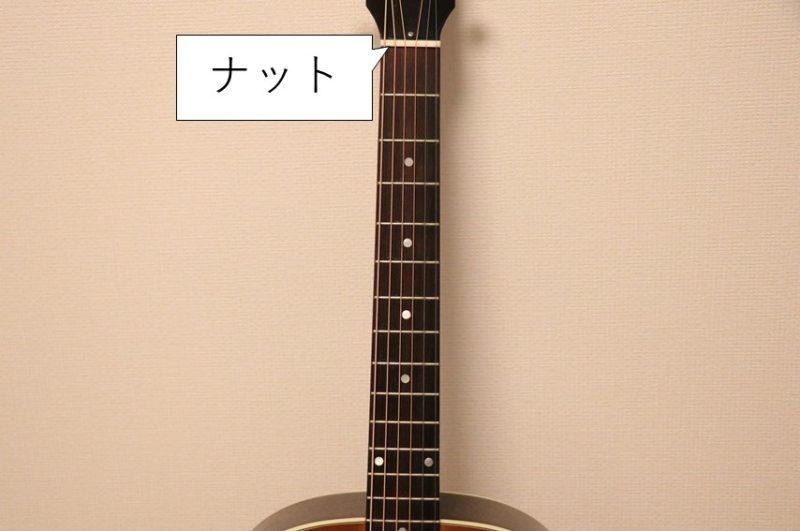 ギターのナット