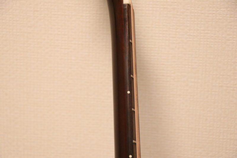 ギターのネック側面
