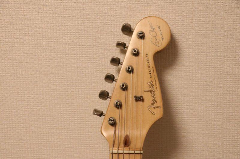 Fenderのギターヘッド