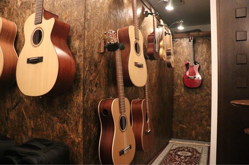 Journey-Instrumentsのショールーム