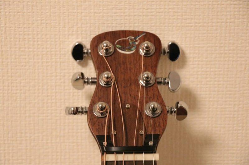 OF410のギターヘッド