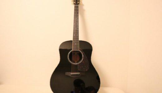 YAMAHA LL16D AREをレビュー。10万円前半で高級ギターのようなルックスのエレアコ