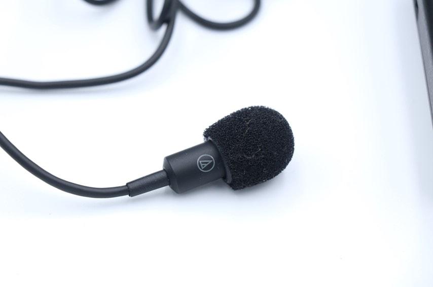 audio technica PRO70のマイク部分