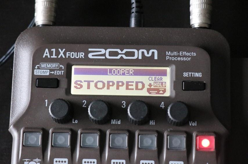 A1X Four ルーパー停止中