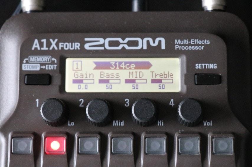 A1X Four エフェクト調整