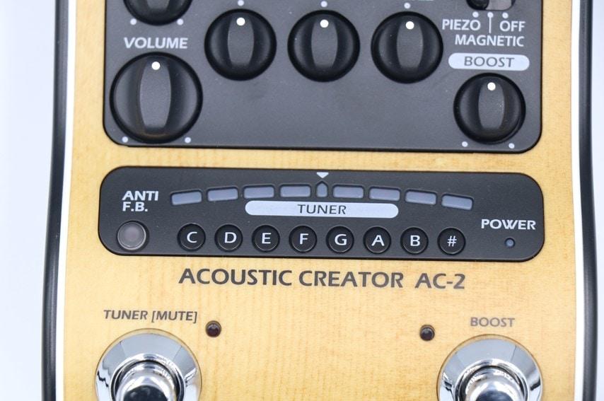 AC-2のチューナー