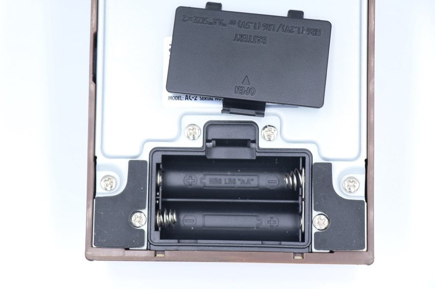 AC-2の電池ケース