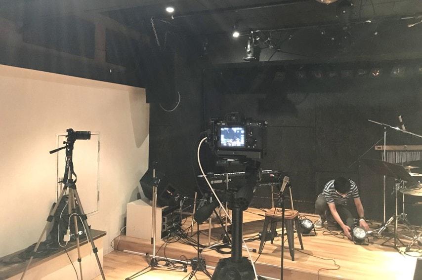 OneGrid ライブハウスでの撮影