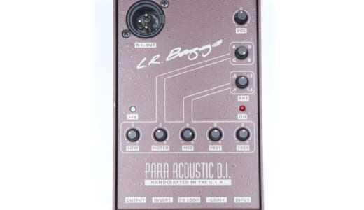 L.R.Baggs Para Acoustic D.I.(パラアコ)をレビュー。ライブ会場問わずに音質が安定するアコギ用プリアンプ