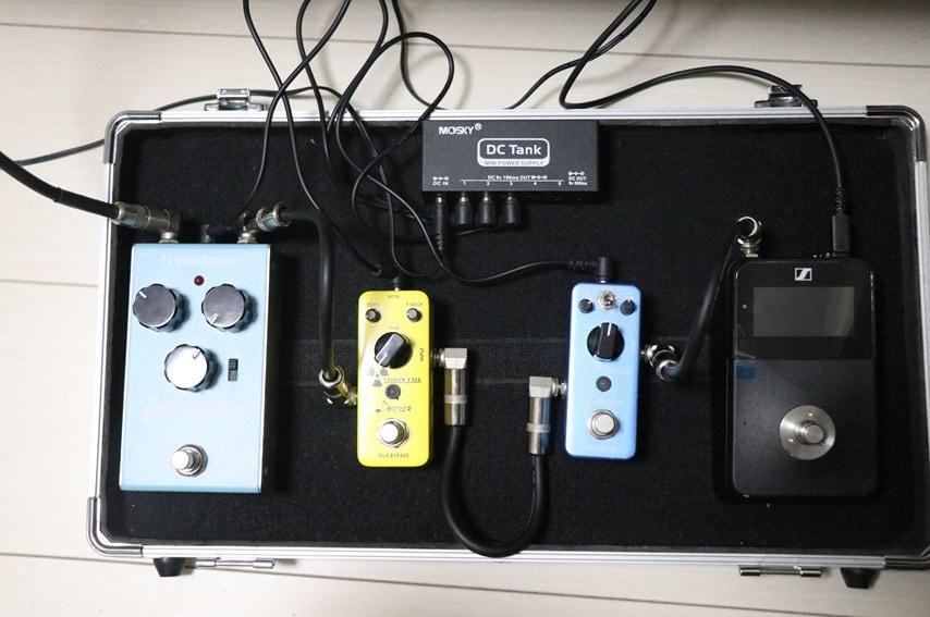 XSW-D PEDALBOARD SETを組み込んだペダルボード