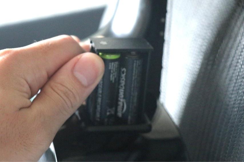 NTX1の電池ボックス
