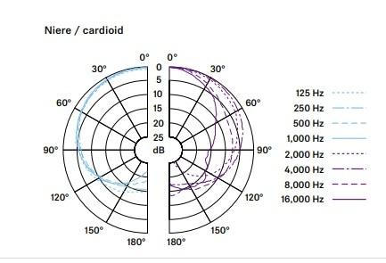 e965 指向性 カーディオイド