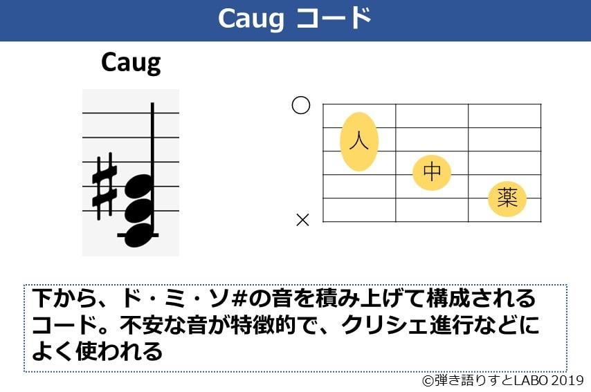 Caugコードの説明