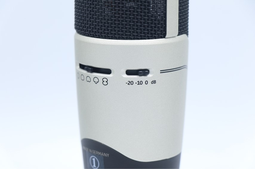 Sennheiser MK 8 PAD機能