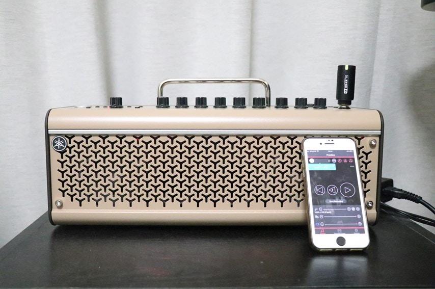 THR30ⅡA WirelessとRenc Share