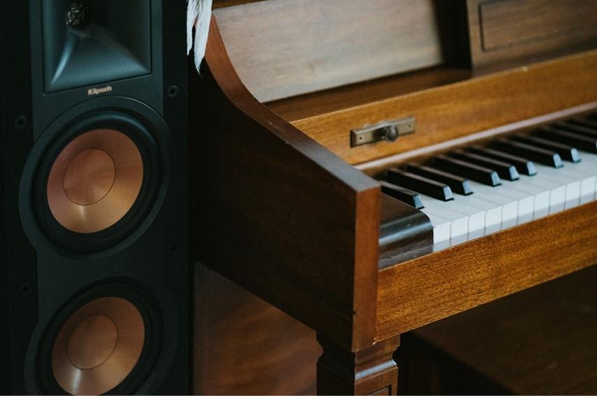 ピアノがある部屋