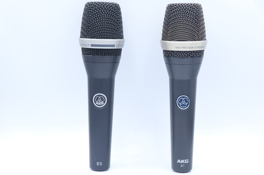 AKG C5とC7