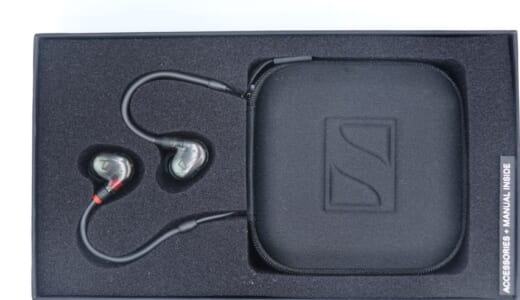 Sennheiser IE 400 PROをレビュー。ドラマー・ベーシスト向けの本格的なイヤモニ