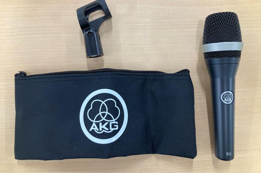 AKG D5-Y3付属品