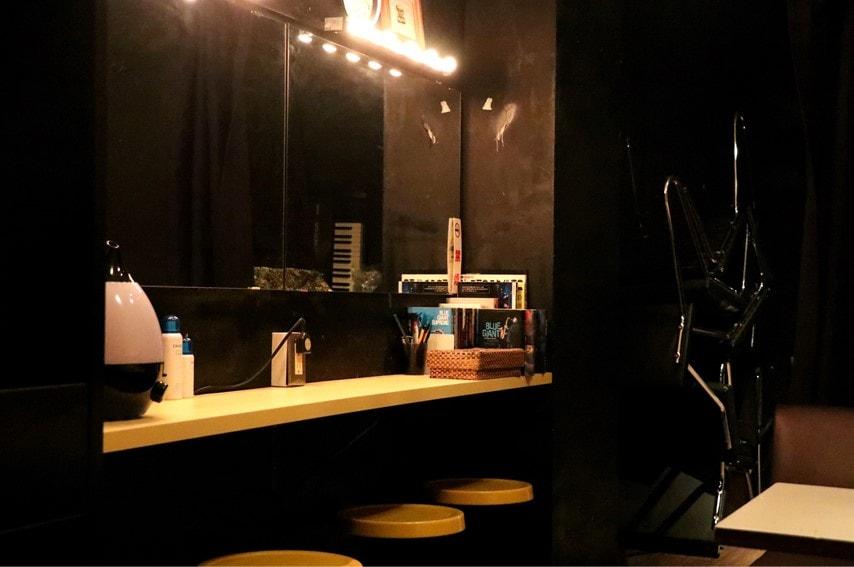 三軒茶屋GRAPEFRUIT MOONの楽屋