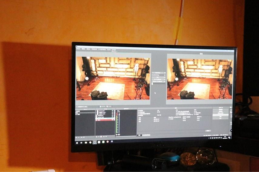 三軒茶屋GRAPEFRUIT MOONの配信ソフト