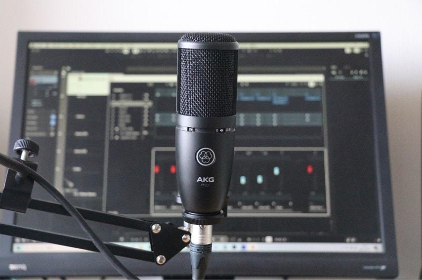 AKG P120と音楽制作環境