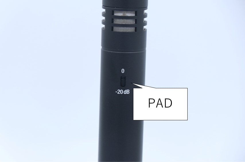AKG P170 PADスイッチ