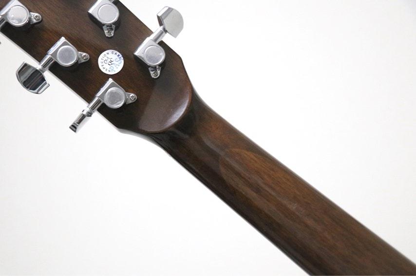 Fender CC-60S Concertのネック背面