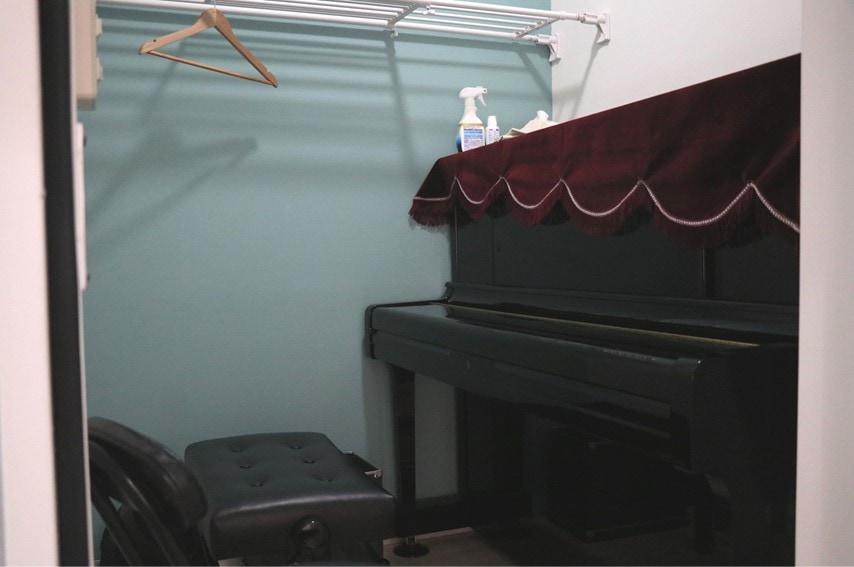 JAM音楽教室のブース