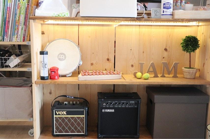 JAM音楽教室のロビー