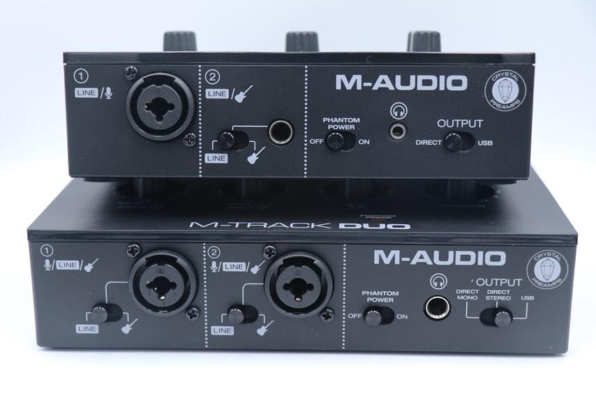M-Audio M-Track soloとM-Track Duo